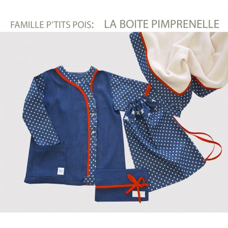 La boite PIMPRENELLE /  P'tits Pois